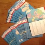 Topografie boekjes bestellen: voorbeeld opengeslagen boekjes